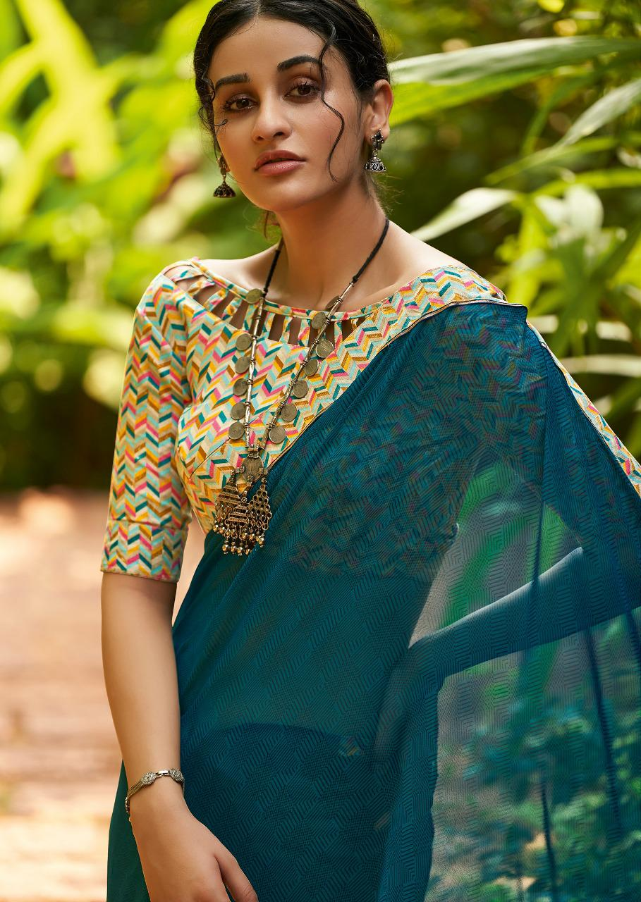 Kashvi Mehar by Lt Fabrics Saree Sari Wholesale Catalog 10 Pcs 25 - Kashvi Mehr by Lt Fabrics Saree Sari Wholesale Catalog 10 Pcs