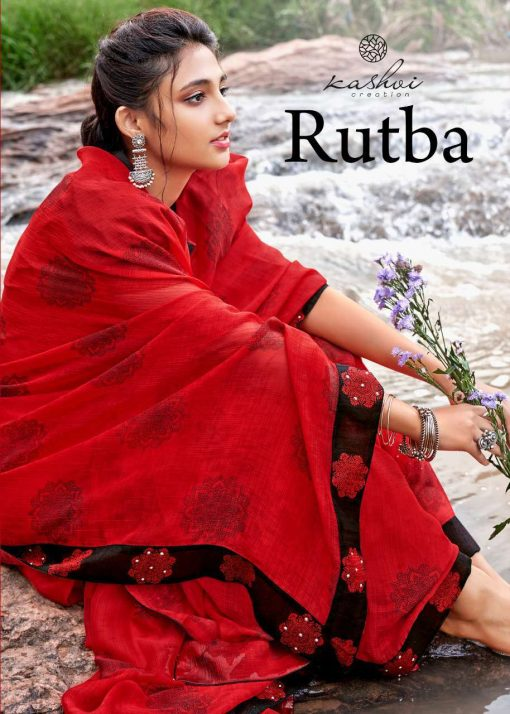 Kashvi Rutba by Lt Fabrics Saree Sari Wholesale Catalog 10 Pcs 1 1 510x714 - Kashvi Rutba by Lt Fabrics Saree Sari Wholesale Catalog 10 Pcs
