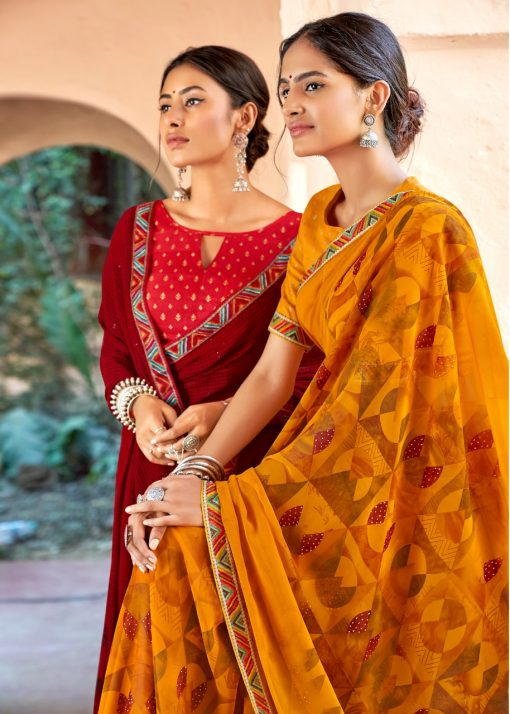 Kashvi Sadhna by Lt Fabrics Saree Sari Wholesale Catalog 10 Pcs 12 510x714 - Kashvi Sadhna by Lt Fabrics Saree Sari Wholesale Catalog 10 Pcs