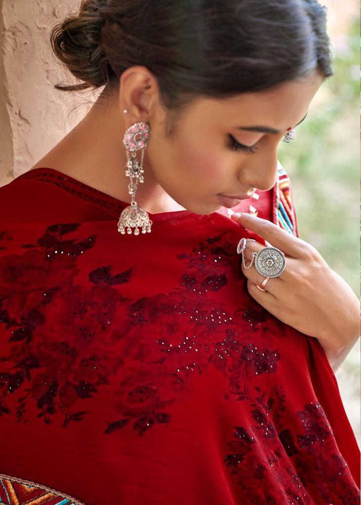 Kashvi Sadhna by Lt Fabrics Saree Sari Wholesale Catalog 10 Pcs 13 - Kashvi Sadhna by Lt Fabrics Saree Sari Wholesale Catalog 10 Pcs