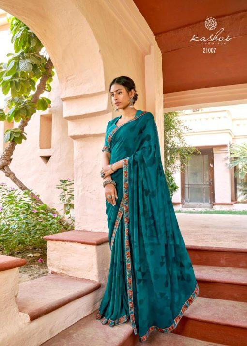 Kashvi Sadhna by Lt Fabrics Saree Sari Wholesale Catalog 10 Pcs 14 510x714 - Kashvi Sadhna by Lt Fabrics Saree Sari Wholesale Catalog 10 Pcs