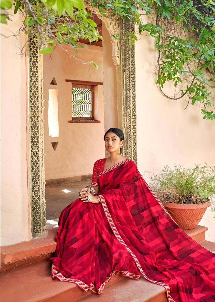 Kashvi Sadhna by Lt Fabrics Saree Sari Wholesale Catalog 10 Pcs 19 - Kashvi Sadhna by Lt Fabrics Saree Sari Wholesale Catalog 10 Pcs