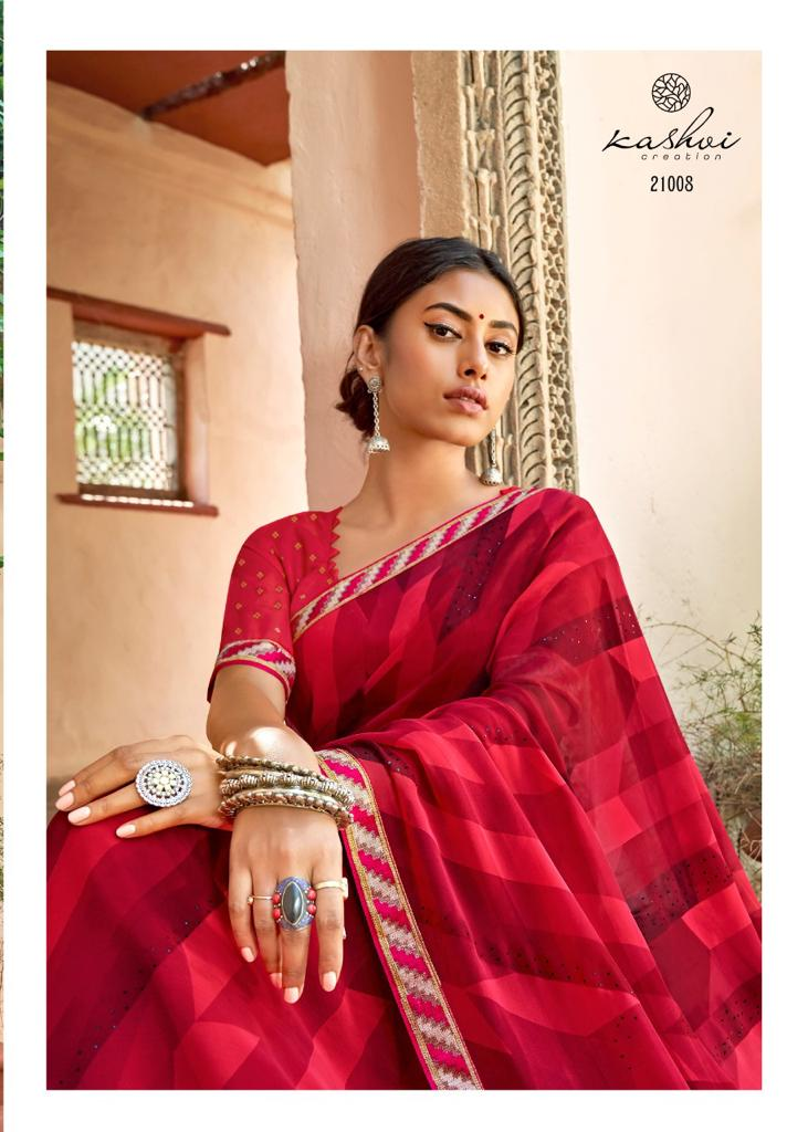 Kashvi Sadhna by Lt Fabrics Saree Sari Wholesale Catalog 10 Pcs 20 - Kashvi Sadhna by Lt Fabrics Saree Sari Wholesale Catalog 10 Pcs