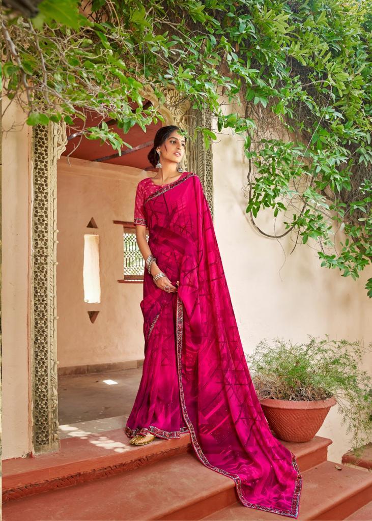Kashvi Sadhna by Lt Fabrics Saree Sari Wholesale Catalog 10 Pcs 21 - Kashvi Sadhna by Lt Fabrics Saree Sari Wholesale Catalog 10 Pcs