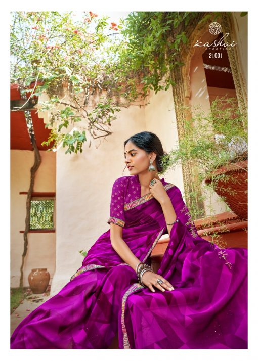 Kashvi Sadhna by Lt Fabrics Saree Sari Wholesale Catalog 10 Pcs 3 510x714 - Kashvi Sadhna by Lt Fabrics Saree Sari Wholesale Catalog 10 Pcs