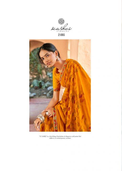 Kashvi Sadhna by Lt Fabrics Saree Sari Wholesale Catalog 10 Pcs 9 510x714 - Kashvi Sadhna by Lt Fabrics Saree Sari Wholesale Catalog 10 Pcs