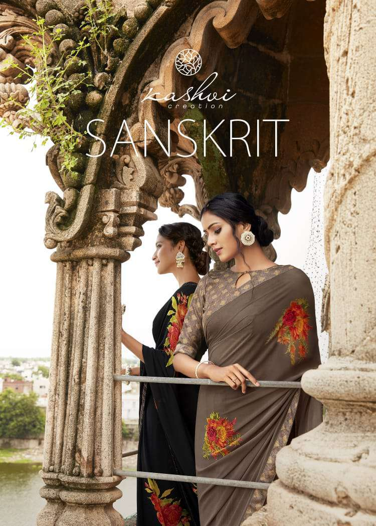 Kashvi Sanskrit by Lt Fabrics Saree Sari Wholesale Catalog 10 Pcs 1 1 - Kashvi Sanskrit by Lt Fabrics Saree Sari Wholesale Catalog 10 Pcs