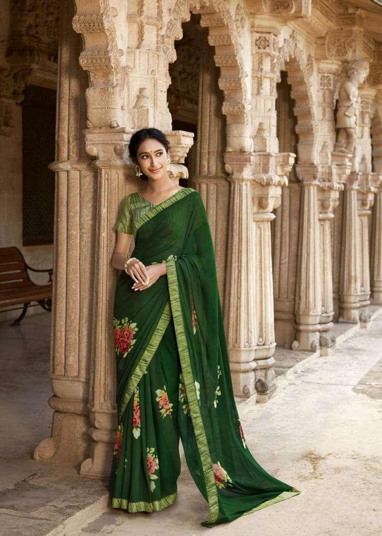 Kashvi Sanskrit by Lt Fabrics Saree Sari Wholesale Catalog 10 Pcs 12 - Kashvi Sanskrit by Lt Fabrics Saree Sari Wholesale Catalog 10 Pcs