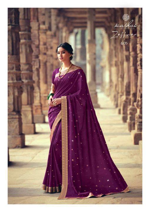 Kashvi Zaffran by Lt Fabrics Saree Sari Wholesale Catalog 10 Pcs 10 510x720 - Kashvi Zaffran by Lt Fabrics Saree Sari Wholesale Catalog 10 Pcs