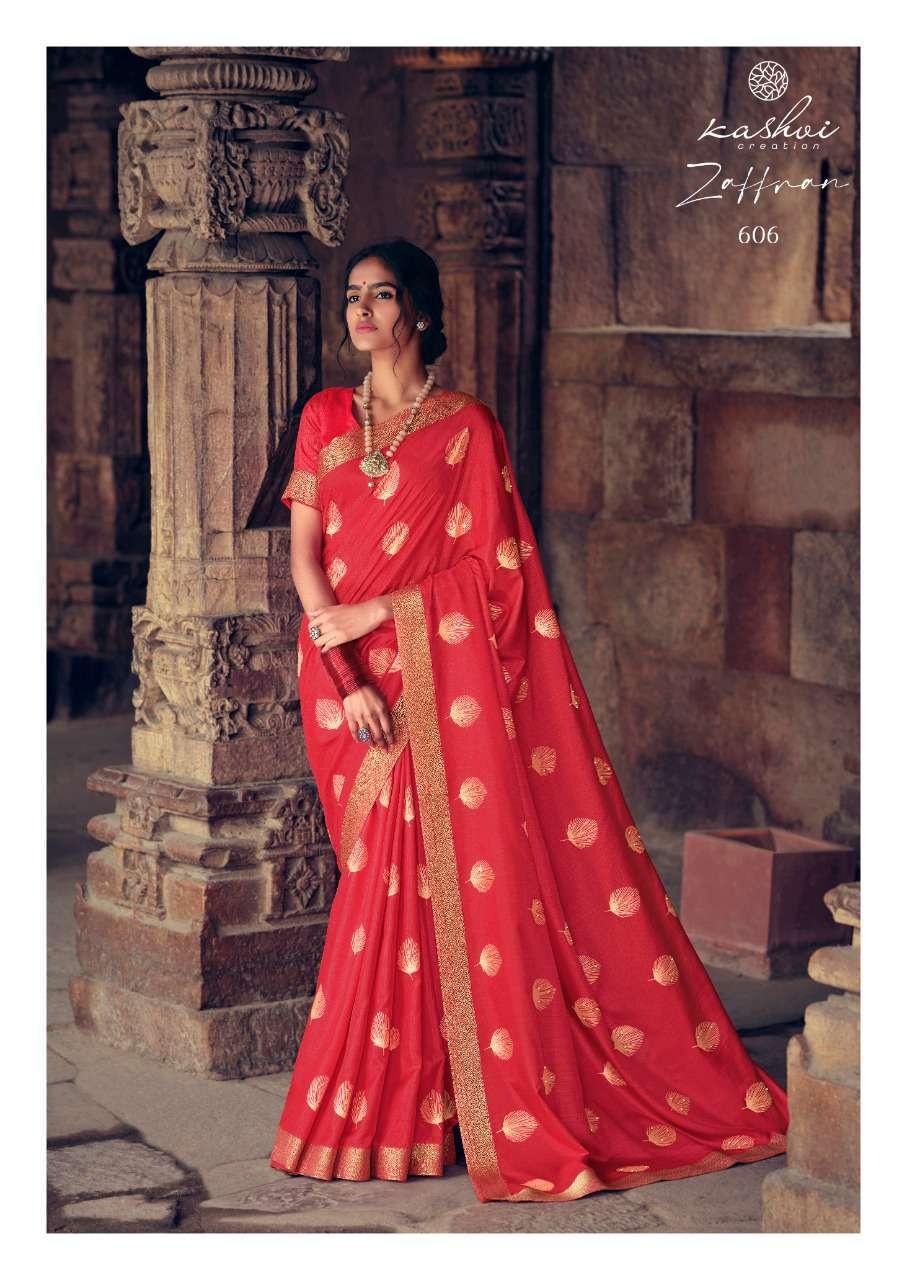 Kashvi Zaffran by Lt Fabrics Saree Sari Wholesale Catalog 10 Pcs 13 - Kashvi Zaffran by Lt Fabrics Saree Sari Wholesale Catalog 10 Pcs