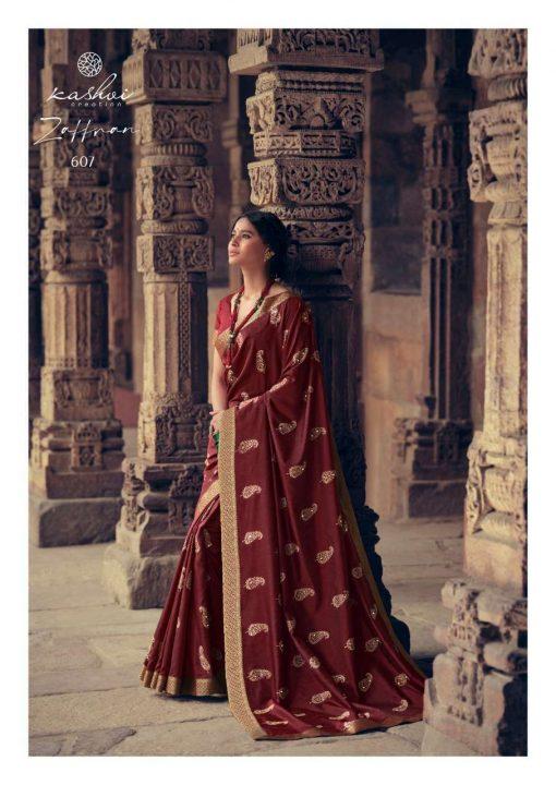 Kashvi Zaffran by Lt Fabrics Saree Sari Wholesale Catalog 10 Pcs 16 510x720 - Kashvi Zaffran by Lt Fabrics Saree Sari Wholesale Catalog 10 Pcs