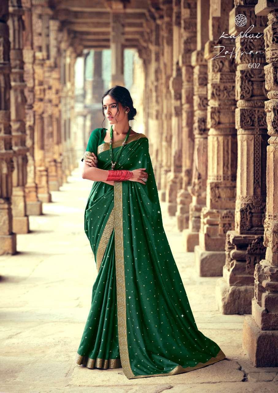 Kashvi Zaffran by Lt Fabrics Saree Sari Wholesale Catalog 10 Pcs 2 - Kashvi Zaffran by Lt Fabrics Saree Sari Wholesale Catalog 10 Pcs