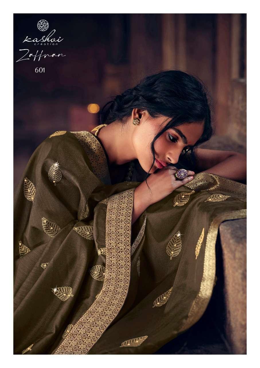 Kashvi Zaffran by Lt Fabrics Saree Sari Wholesale Catalog 10 Pcs 20 - Kashvi Zaffran by Lt Fabrics Saree Sari Wholesale Catalog 10 Pcs
