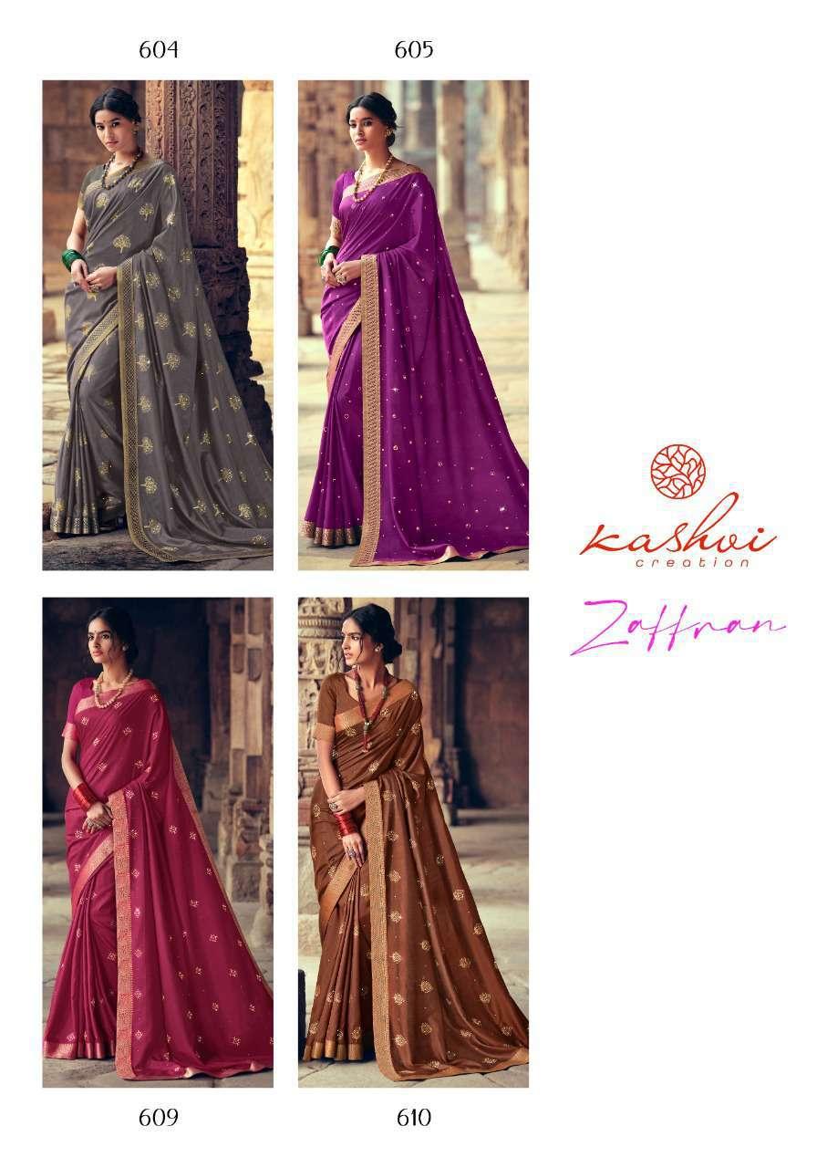 Kashvi Zaffran by Lt Fabrics Saree Sari Wholesale Catalog 10 Pcs 23 - Kashvi Zaffran by Lt Fabrics Saree Sari Wholesale Catalog 10 Pcs