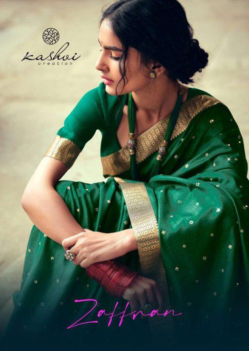 Kashvi Zaffran by Lt Fabrics Saree Sari Wholesale Catalog 10 Pcs 5 510x720 - Kashvi Zaffran by Lt Fabrics Saree Sari Wholesale Catalog 10 Pcs
