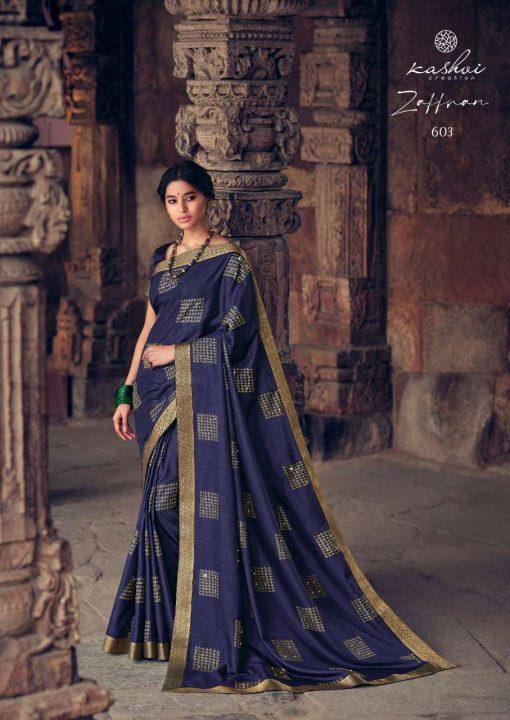 Kashvi Zaffran by Lt Fabrics Saree Sari Wholesale Catalog 10 Pcs 6 510x720 - Kashvi Zaffran by Lt Fabrics Saree Sari Wholesale Catalog 10 Pcs