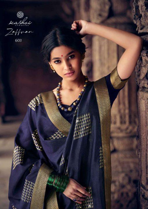 Kashvi Zaffran by Lt Fabrics Saree Sari Wholesale Catalog 10 Pcs 7 510x720 - Kashvi Zaffran by Lt Fabrics Saree Sari Wholesale Catalog 10 Pcs