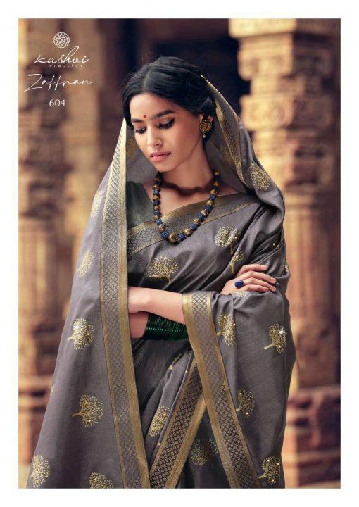 Kashvi Zaffran by Lt Fabrics Saree Sari Wholesale Catalog 10 Pcs 9 510x720 - Kashvi Zaffran by Lt Fabrics Saree Sari Wholesale Catalog 10 Pcs