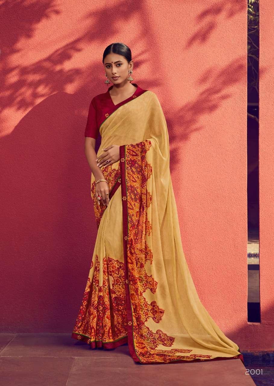 Kashvi Zubaida Vol 2 by Lt Fabrics Saree Sari Wholesale Catalog 10 Pcs 1 - Kashvi Zubaida Vol 2 by Lt Fabrics Saree Sari Wholesale Catalog 10 Pcs