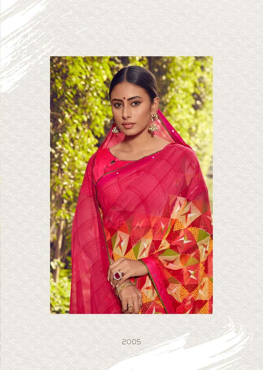 Kashvi Zubaida Vol 2 by Lt Fabrics Saree Sari Wholesale Catalog 10 Pcs 10 - Kashvi Zubaida Vol 2 by Lt Fabrics Saree Sari Wholesale Catalog 10 Pcs