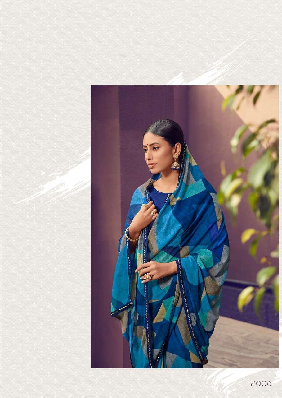 Kashvi Zubaida Vol 2 by Lt Fabrics Saree Sari Wholesale Catalog 10 Pcs 12 - Kashvi Zubaida Vol 2 by Lt Fabrics Saree Sari Wholesale Catalog 10 Pcs