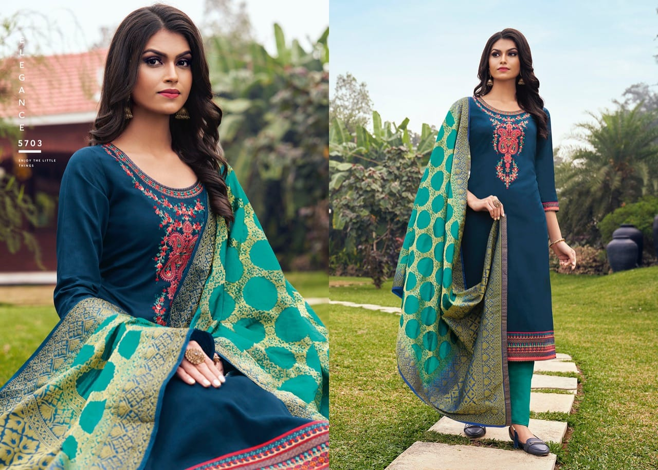 Kessi Asopalav Vol 17 Salwar Suit Wholesale Catalog 8 Pcs 4 - Kessi Asopalav Vol 17 Salwar Suit Wholesale Catalog 8 Pcs