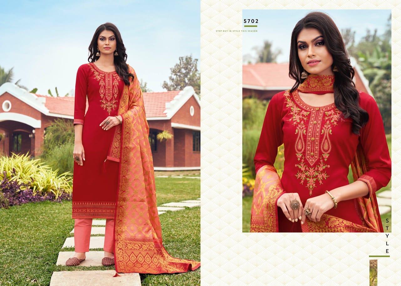 Kessi Asopalav Vol 17 Salwar Suit Wholesale Catalog 8 Pcs 8 - Kessi Asopalav Vol 17 Salwar Suit Wholesale Catalog 8 Pcs