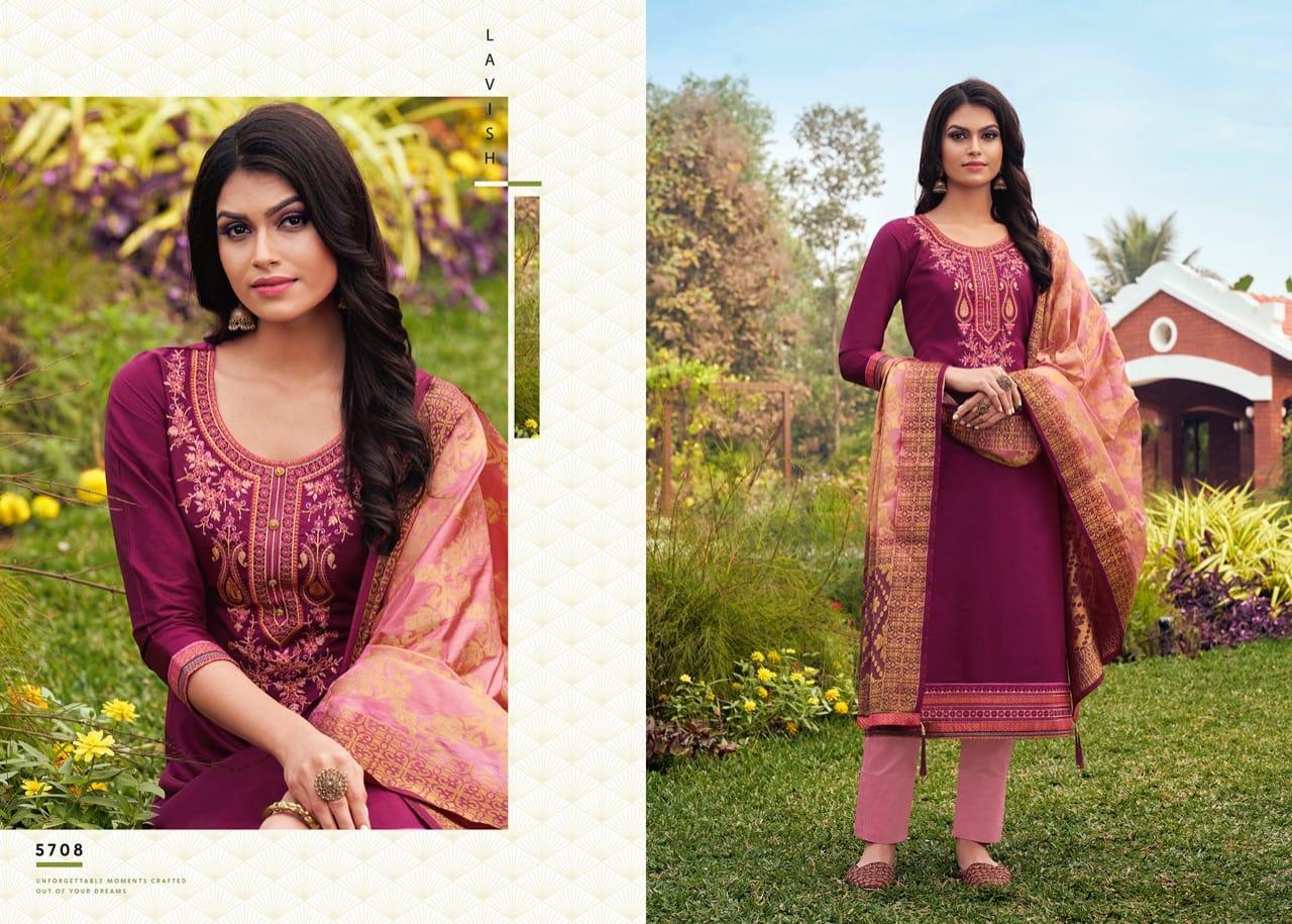 Kessi Asopalav Vol 17 Salwar Suit Wholesale Catalog 8 Pcs 9 - Kessi Asopalav Vol 17 Salwar Suit Wholesale Catalog 8 Pcs