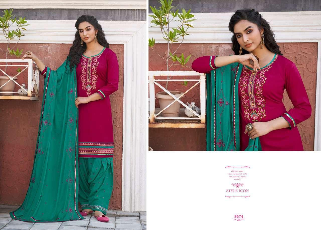 Kessi Patiala House Vol 81 Salwar Suit Wholesale Catalog 8 Pcs 9 - Kessi Patiala House Vol 81 Salwar Suit Wholesale Catalog 8 Pcs