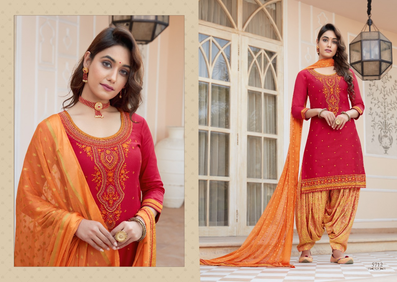 Kessi Shangar by Patiala House Vol 19 Salwar Suit Wholesale Catalog 8 Pcs 8 - Kessi Shangar by Patiala House Vol 19 Salwar Suit Wholesale Catalog 8 Pcs
