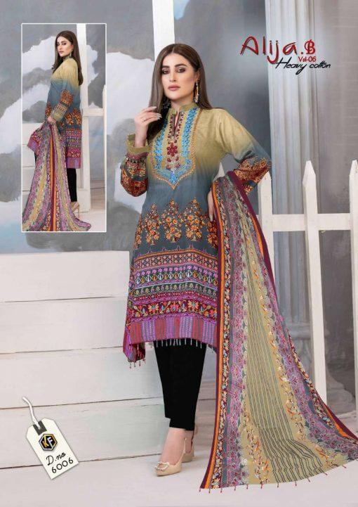 Keval Feb Alija B Vol 6 Heavy Cotton Salwar Suit Wholesale Catalog 6 Pcs 3 510x721 - Keval Fab Alija B Vol 6 Heavy Cotton Salwar Suit Wholesale Catalog 6 Pcs