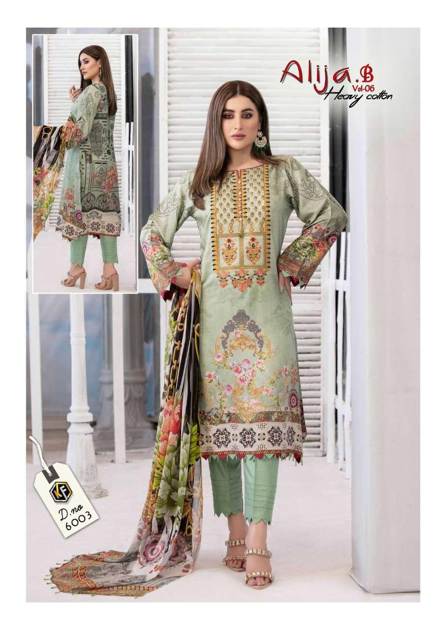 Keval Feb Alija B Vol 6 Heavy Cotton Salwar Suit Wholesale Catalog 6 Pcs 8 - Keval Feb Alija B Vol 6 Heavy Cotton Salwar Suit Wholesale Catalog 6 Pcs