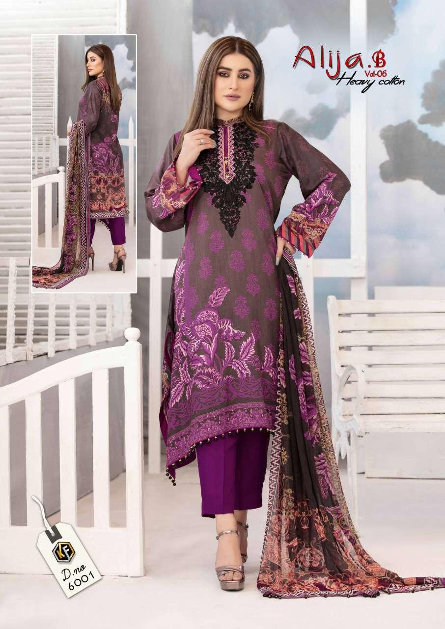 Keval Feb Alija B Vol 6 Heavy Cotton Salwar Suit Wholesale Catalog 6 Pcs 9 - Keval Feb Alija B Vol 6 Heavy Cotton Salwar Suit Wholesale Catalog 6 Pcs