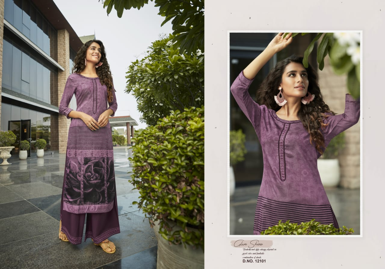 Kivi Fashion Fiesta Vol 4 by Kajree Kurti with Palazzo Wholesale Catalog 6 Pcs 2 - Kivi Fashion Fiesta Vol 4 by Kajree Kurti with Palazzo Wholesale Catalog 6 Pcs