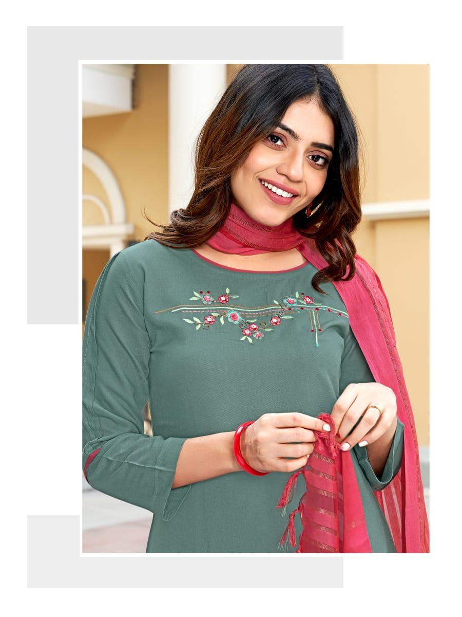 Ladies Flavour Sequence Kurti with Dupatta Bottom Wholesale Catalog 8 Pcs 12 - Ladies Flavour Sequence Kurti with Dupatta Bottom Wholesale Catalog 8 Pcs