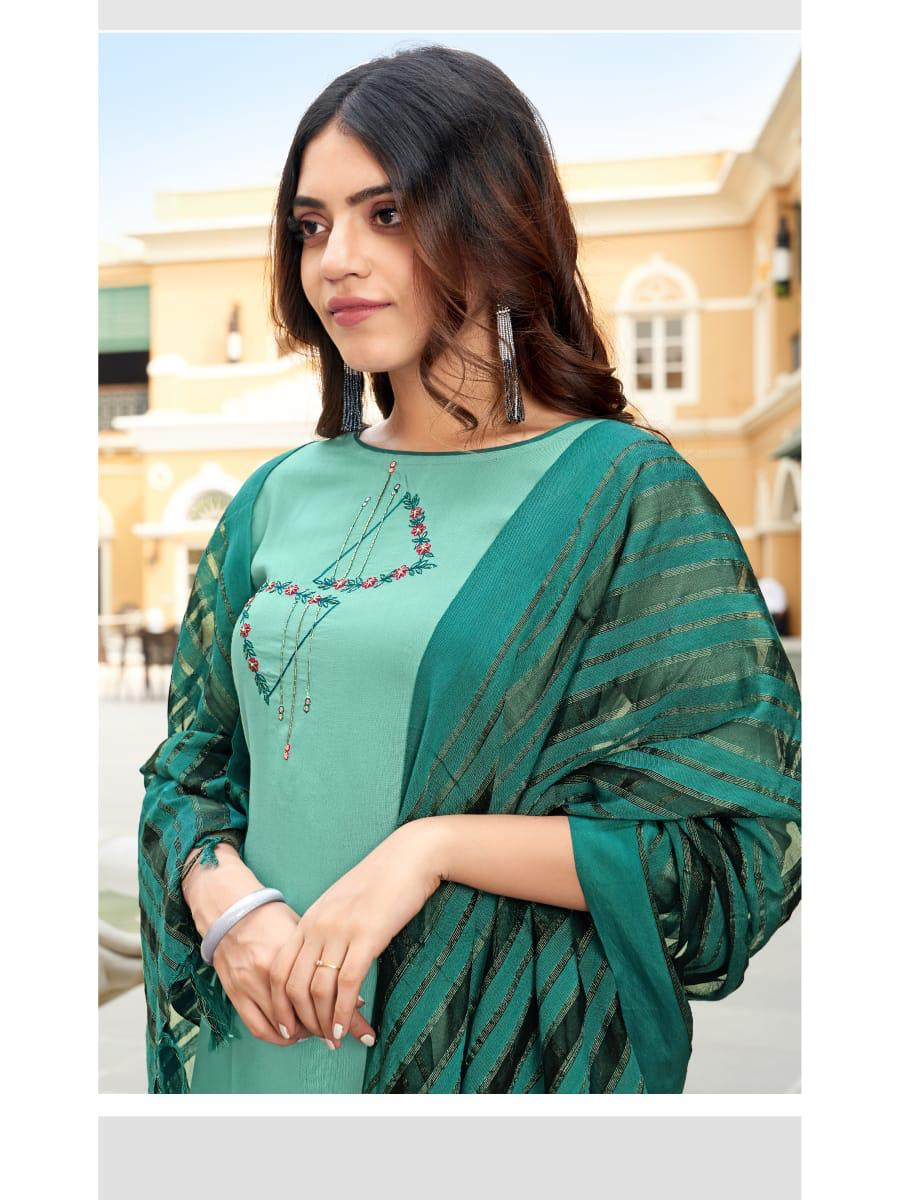 Ladies Flavour Sequence Kurti with Dupatta Bottom Wholesale Catalog 8 Pcs 14 - Ladies Flavour Sequence Kurti with Dupatta Bottom Wholesale Catalog 8 Pcs