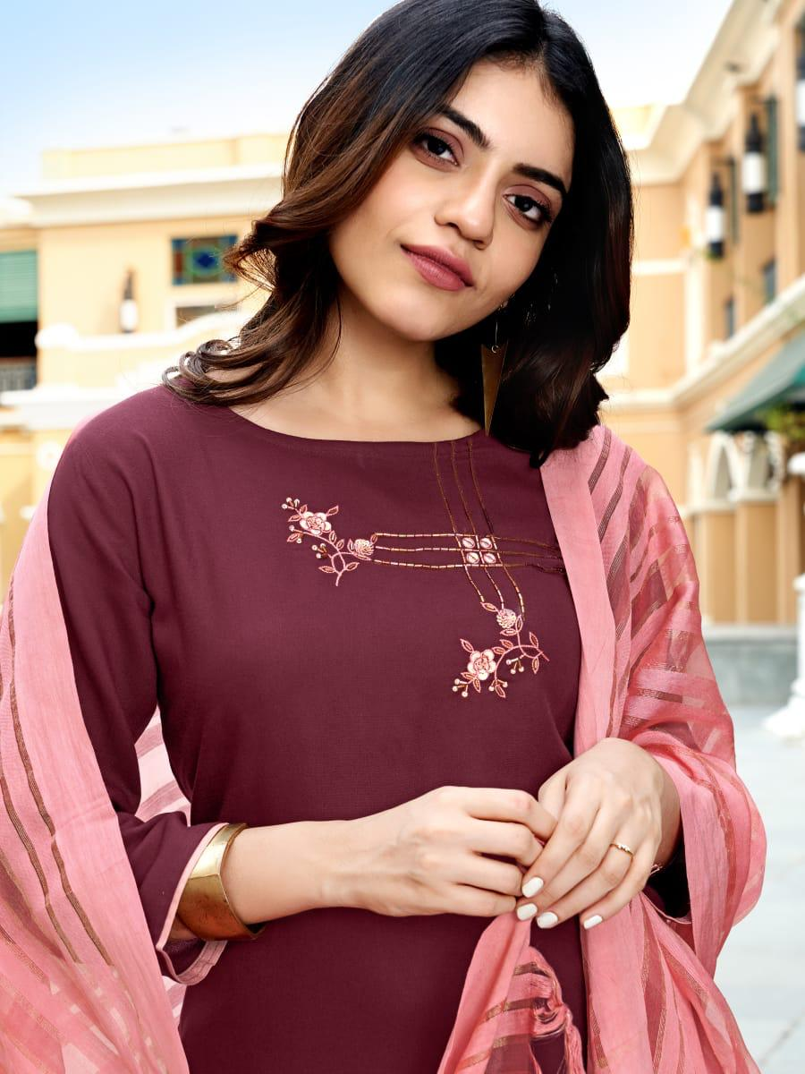 Ladies Flavour Sequence Kurti with Dupatta Bottom Wholesale Catalog 8 Pcs 15 - Ladies Flavour Sequence Kurti with Dupatta Bottom Wholesale Catalog 8 Pcs