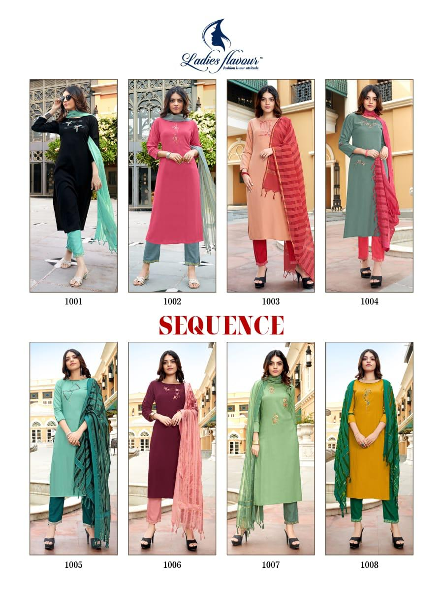 Ladies Flavour Sequence Kurti with Dupatta Bottom Wholesale Catalog 8 Pcs 19 - Ladies Flavour Sequence Kurti with Dupatta Bottom Wholesale Catalog 8 Pcs