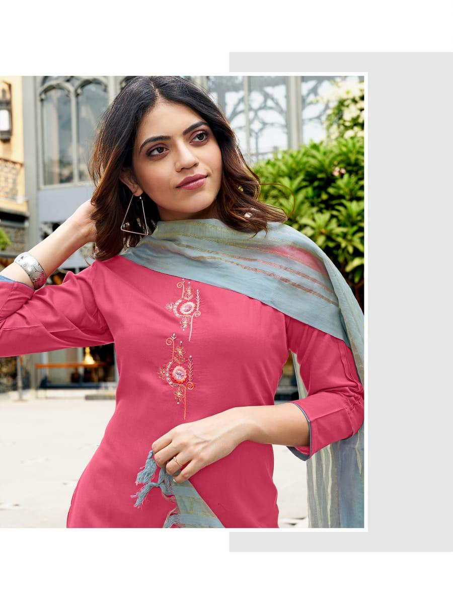 Ladies Flavour Sequence Kurti with Dupatta Bottom Wholesale Catalog 8 Pcs 4 - Ladies Flavour Sequence Kurti with Dupatta Bottom Wholesale Catalog 8 Pcs