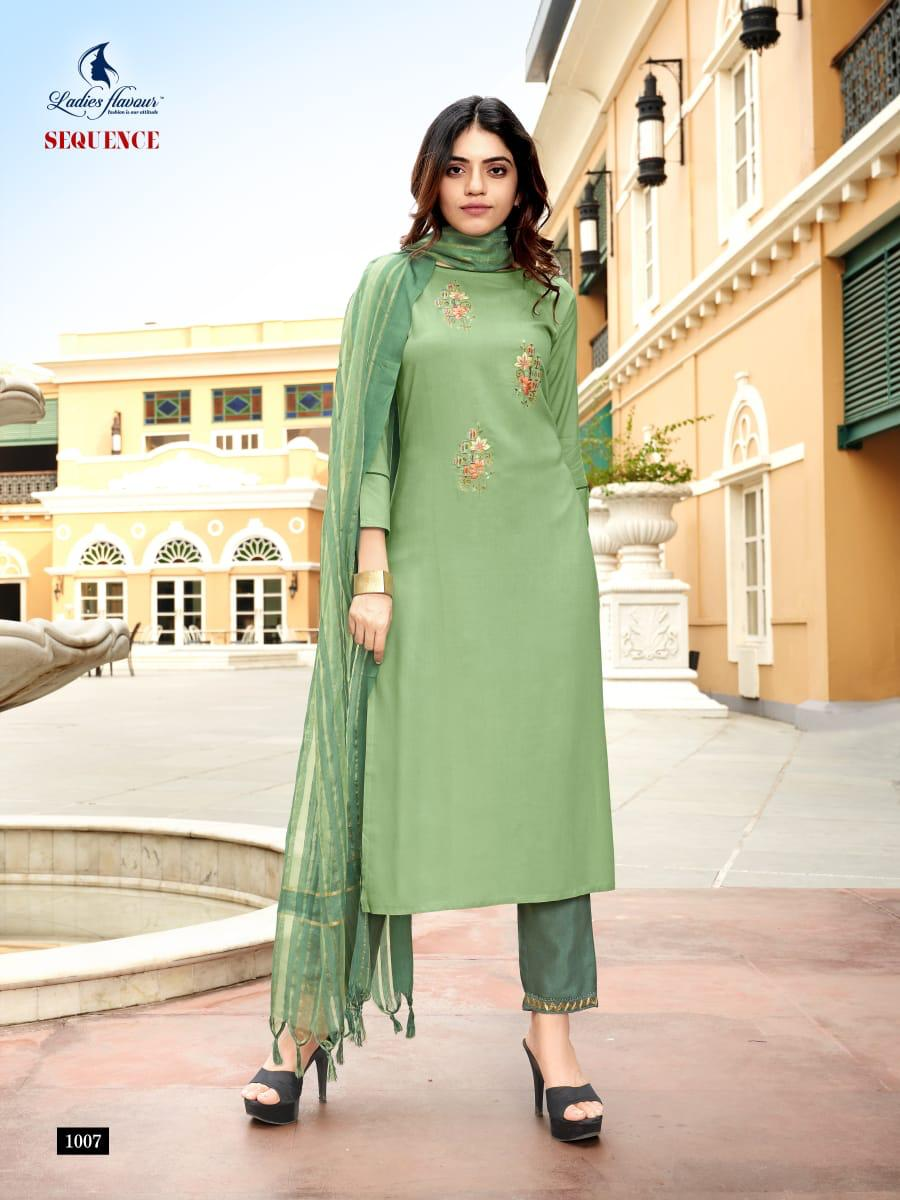 Ladies Flavour Sequence Kurti with Dupatta Bottom Wholesale Catalog 8 Pcs 6 - Ladies Flavour Sequence Kurti with Dupatta Bottom Wholesale Catalog 8 Pcs