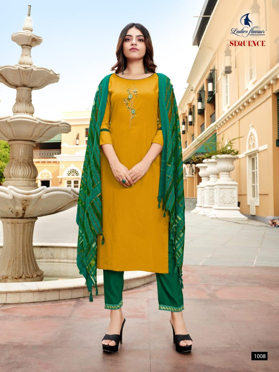 Ladies Flavour Sequence Kurti with Dupatta Bottom Wholesale Catalog 8 Pcs 8 - Ladies Flavour Sequence Kurti with Dupatta Bottom Wholesale Catalog 8 Pcs