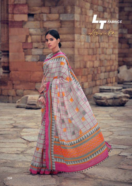 Lt Fabrics Aurika Saree Sari Wholesale Catalog 10 Pcs 10 510x719 - Lt Fabrics Aurika Saree Sari Wholesale Catalog 10 Pcs