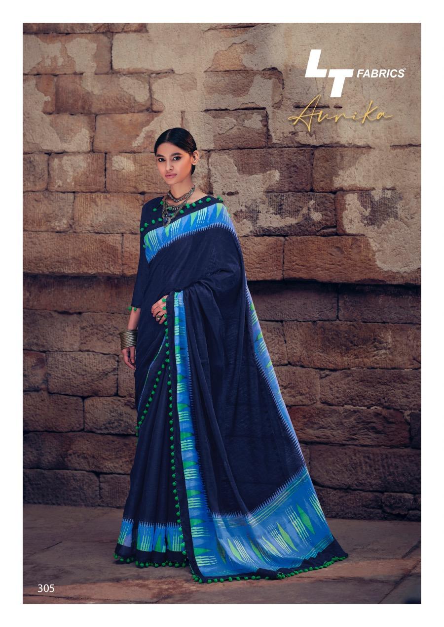 Lt Fabrics Aurika Saree Sari Wholesale Catalog 10 Pcs 11 - Lt Fabrics Aurika Saree Sari Wholesale Catalog 10 Pcs