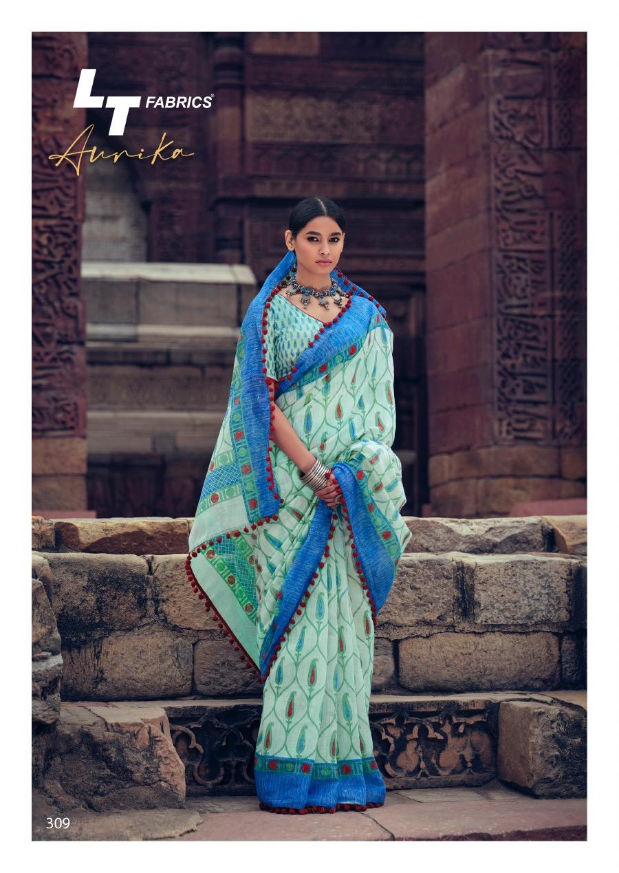 Lt Fabrics Aurika Saree Sari Wholesale Catalog 10 Pcs 16 - Lt Fabrics Aurika Saree Sari Wholesale Catalog 10 Pcs