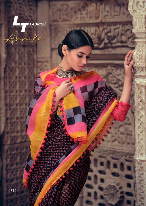 Lt Fabrics Aurika Saree Sari Wholesale Catalog 10 Pcs 18 510x719 - Lt Fabrics Aurika Saree Sari Wholesale Catalog 10 Pcs