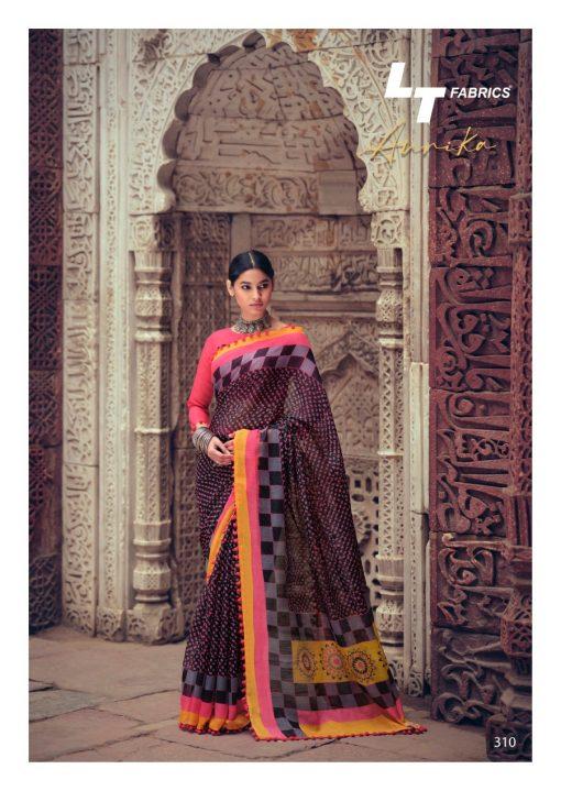 Lt Fabrics Aurika Saree Sari Wholesale Catalog 10 Pcs 19 510x719 - Lt Fabrics Aurika Saree Sari Wholesale Catalog 10 Pcs