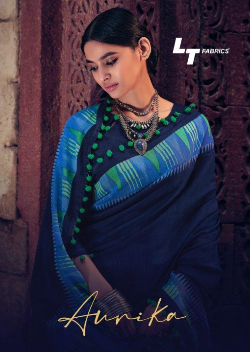 Lt Fabrics Aurika Saree Sari Wholesale Catalog 10 Pcs 2 510x719 - Lt Fabrics Aurika Saree Sari Wholesale Catalog 10 Pcs