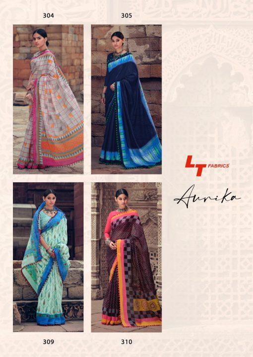 Lt Fabrics Aurika Saree Sari Wholesale Catalog 10 Pcs 21 510x719 - Lt Fabrics Aurika Saree Sari Wholesale Catalog 10 Pcs