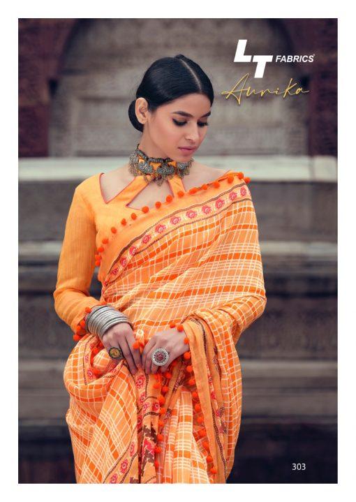 Lt Fabrics Aurika Saree Sari Wholesale Catalog 10 Pcs 7 510x719 - Lt Fabrics Aurika Saree Sari Wholesale Catalog 10 Pcs