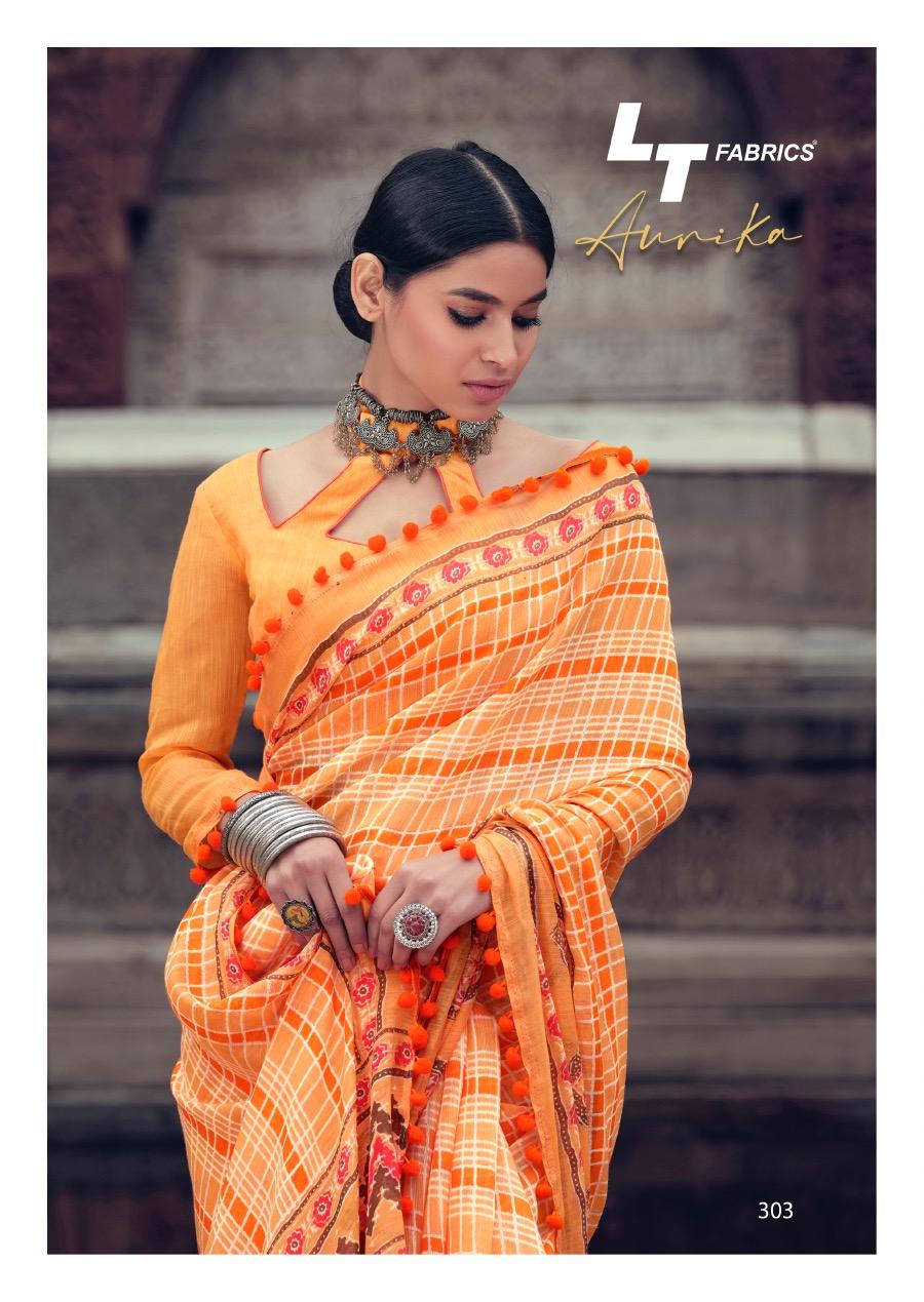 Lt Fabrics Aurika Saree Sari Wholesale Catalog 10 Pcs 7 - Lt Fabrics Aurika Saree Sari Wholesale Catalog 10 Pcs